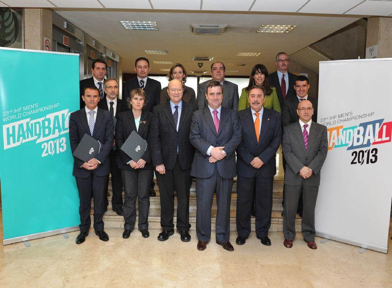 El Mundial España 2013 de balonmano da un nuevo paso al constituir el comité organizador