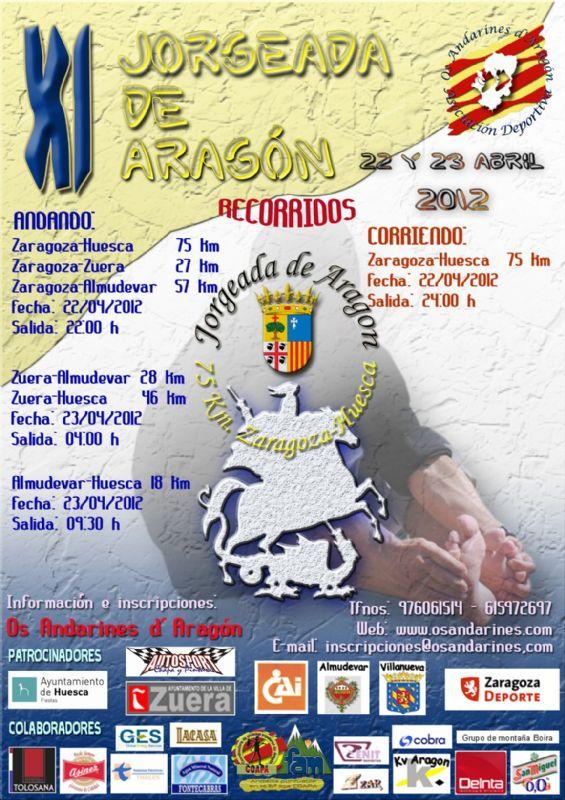 La «Jorgeada» 2012 vuelve a su tradicional fecha en San Jorge