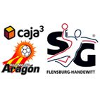 Los alemanes del SG Flensburg - Handewitt serán los rivales del Caja 3 BM Aragón en las semifinales de la Recopa