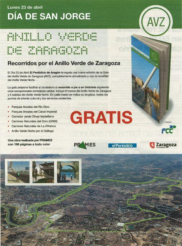 El Periódico te regala la Guía del Anillo Verde de Zaragoza