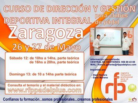 Curso de Dirección y Gestión Deportiva Integral para clubes de pádel