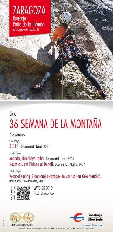XXXVI Semana de la Montaña: Proyección de documentales
