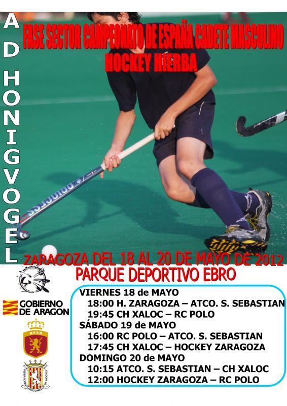 Hockey de alto nivel en el Parque Deportivo Ebro