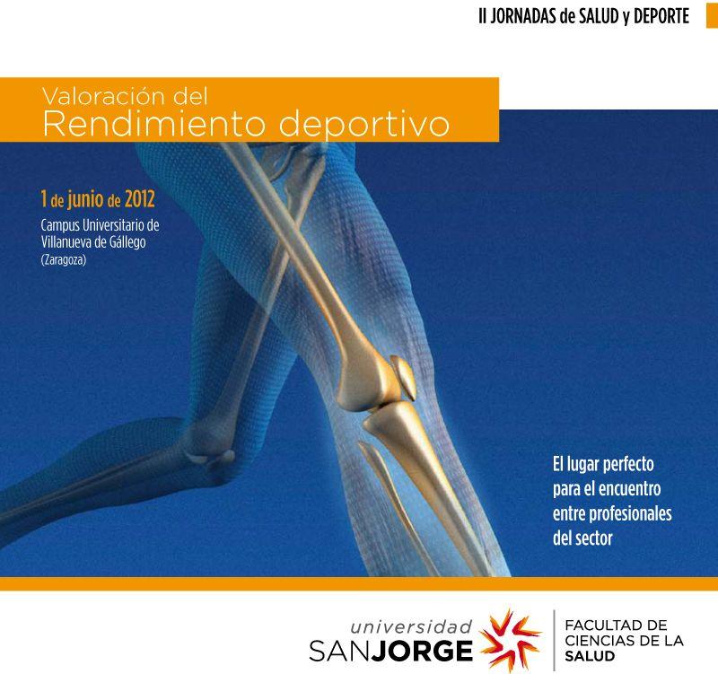 Inscripciones gratuitas para las II Jornadas de Salud y Deporte de la Universidad San Jorge
