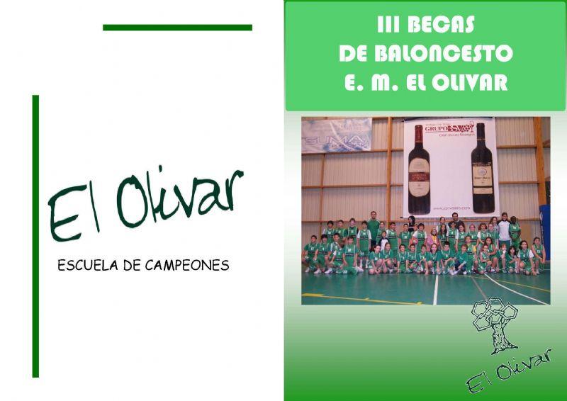 Programa de Becas de Baloncesto 2012 «E. M. El Olivar»