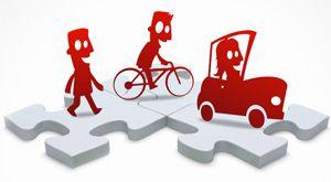 Peatón, ciclista, conductor: Nos respetamos todos