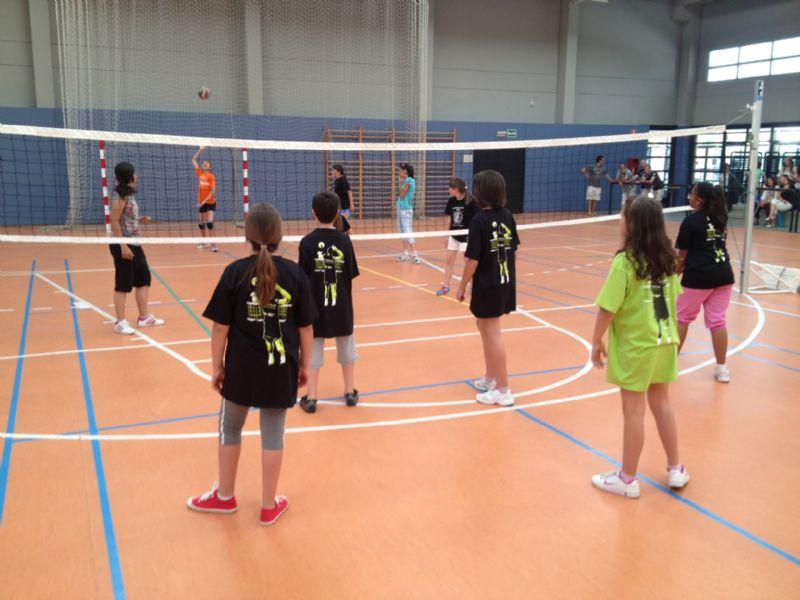 Campus de iniciación de Voleibol