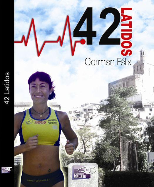 La atleta aragonesa Carmen Félix presenta su libro «42 latidos»