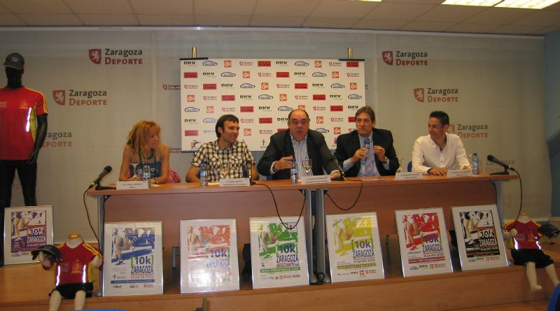 Presentación de la «Sport Zone 10k Zaragoza 2012»
