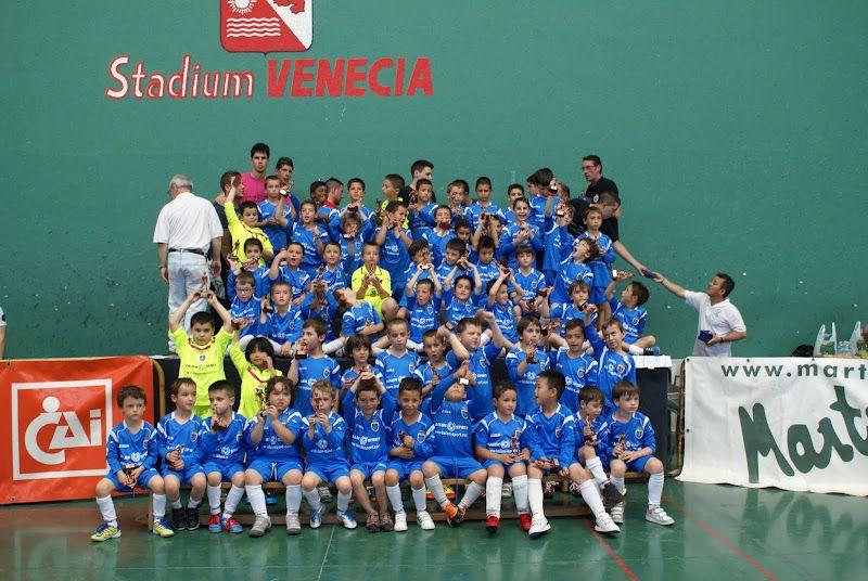 Clausura del Torneo Escuelas de Fútbol de Stadium Venecia