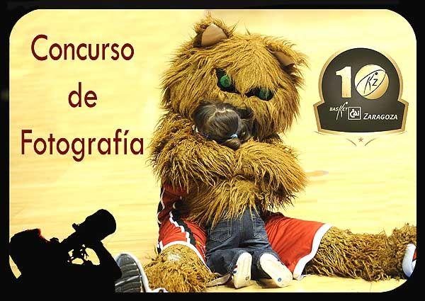 Concurso de Fotografía «X Aniversario Basket Zaragoza 2002»