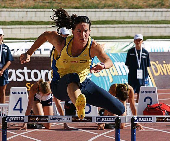 La zaragozana Laura Ginés iguala el récord de España de heptathlón