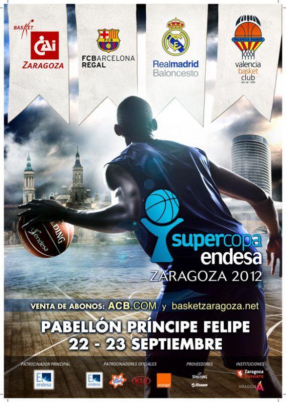 A la venta los abonos de la Supercopa Endesa de Baloncesto para todos los aficionados