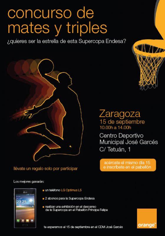 ¿Quieres ser la estrella de la Supercopa Endesa de Baloncesto?