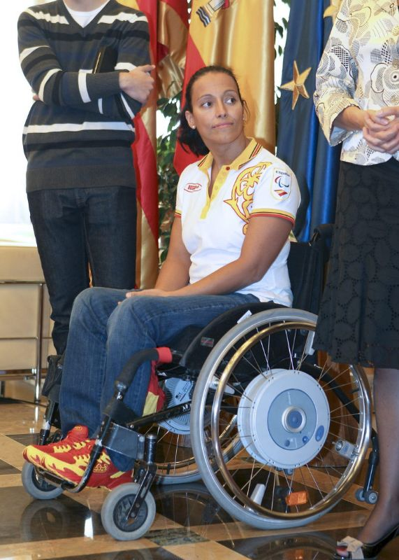 La nadadora Teresa Perales será la pregonera de las fiestas del Pilar 2012