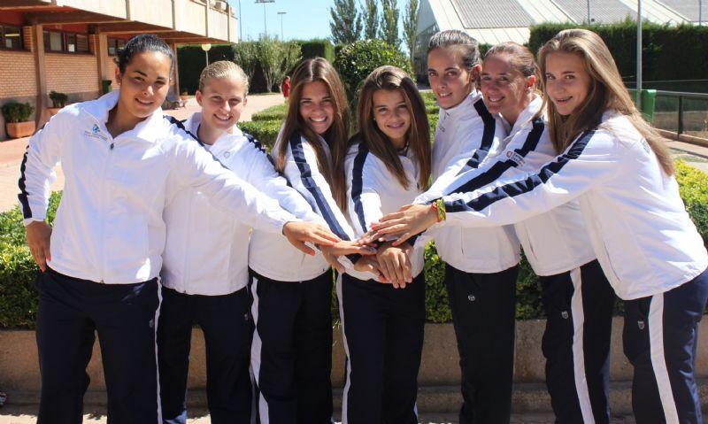 El equipo femenino del Real Zaragoza Club de Tenis consigue una plaza para luchar por la primera división
