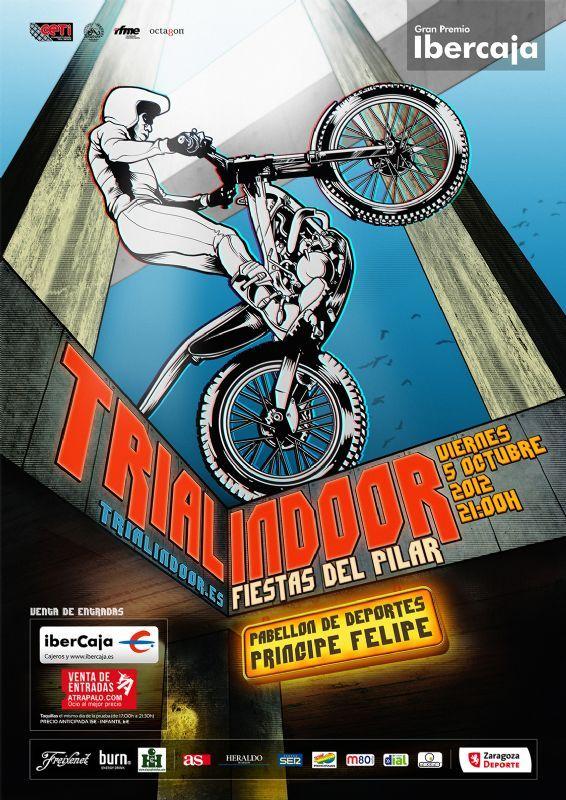 El XXIII Trial Indoor «Fiestas del Pilar» se celebra este viernes