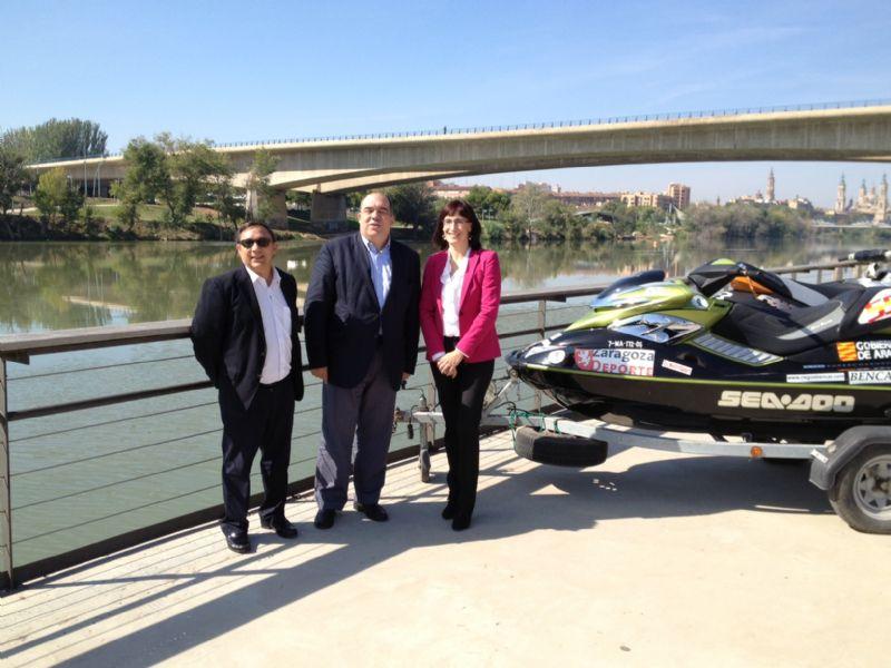 Presentado el II Trofeo «CAI-Ciudad de Zaragoza» de Motonáutica