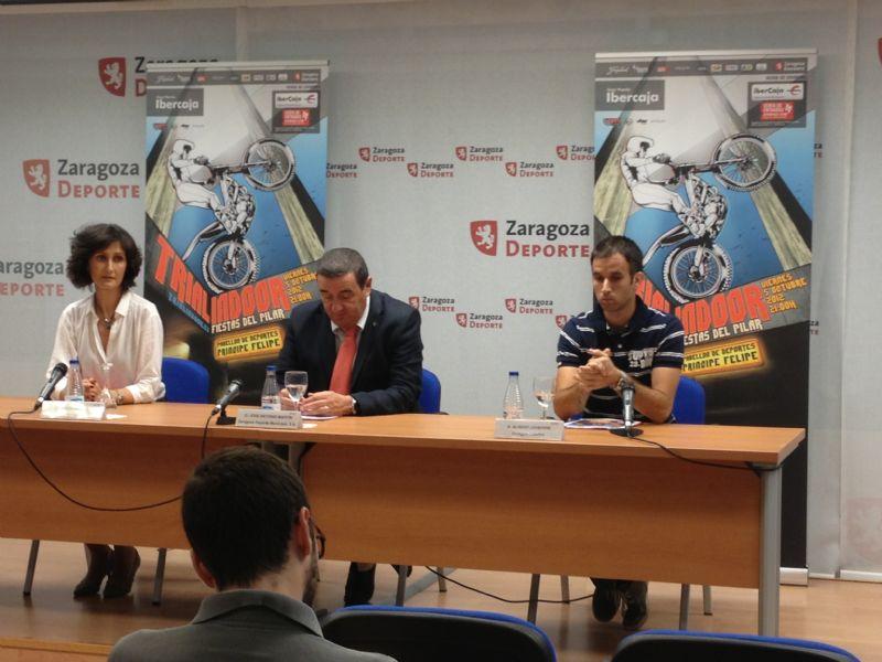 Presentado el XXIII Trial Indoor «Fiestas del Pilar» que se celebra mañana
