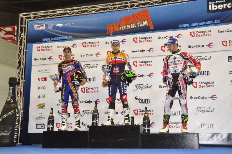 Toni Bou estrena con victoria el Campeonato de España de Trial Indoor