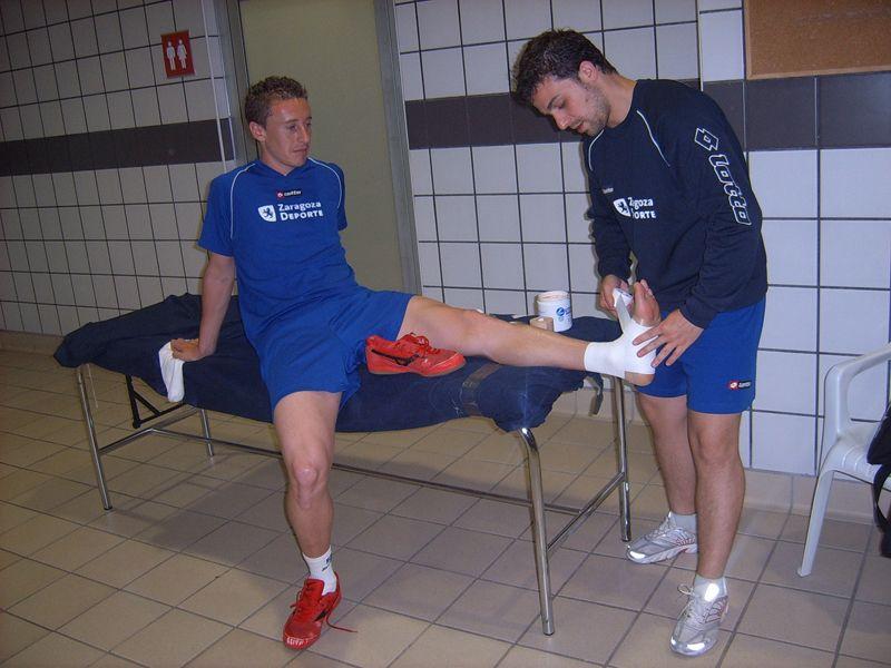 Prevención del esguince de tobillo en el fútbol sala