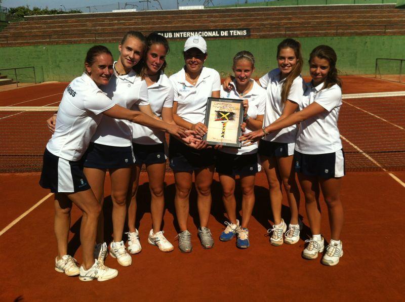 El Real Zaragoza Club de Tenis, campeón de España Por Equipos de club 2012