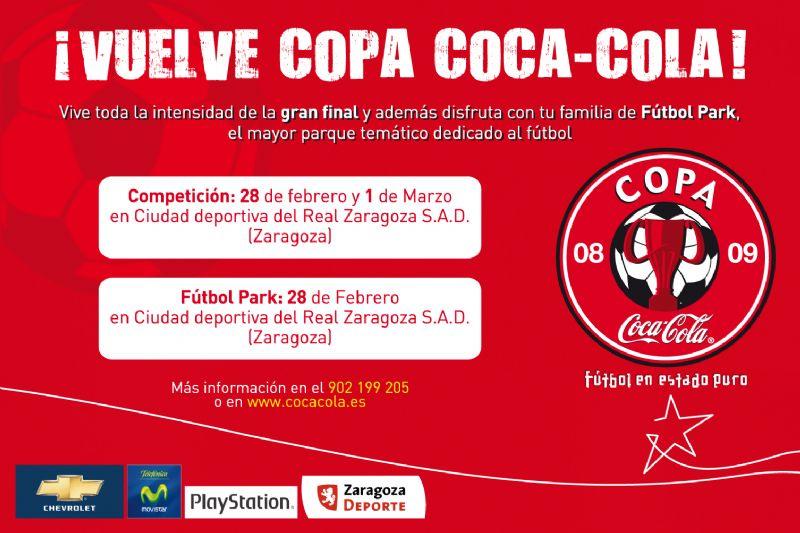 La «Copa Coca Cola» llega a Zaragoza.
