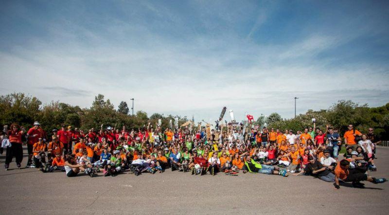 Fotos de la Ruta «Pilares en Patines 2012»
