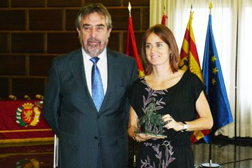Zaragoza distingue a sus olímpicos como ciudadanos ejemplares por los valores que representan