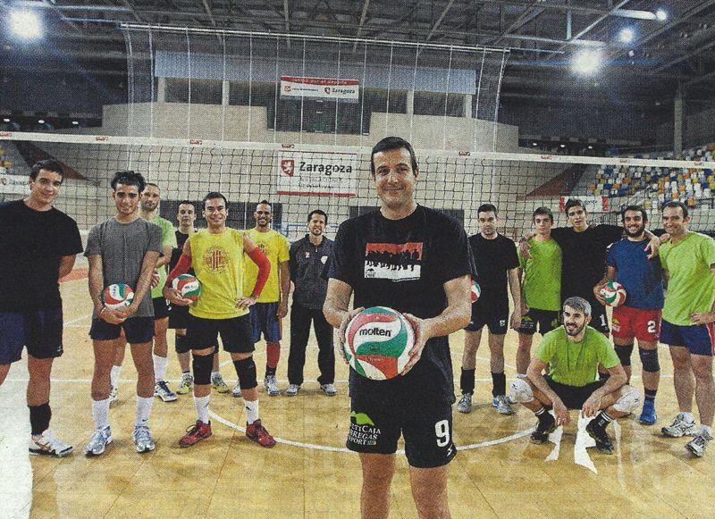 El Club Voleibol Zaragoza «compra» experiencia