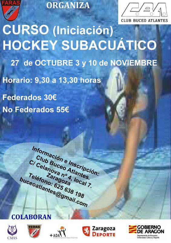 ¿Te apetece probar un deporte diferente?: Hockey Subacuático
