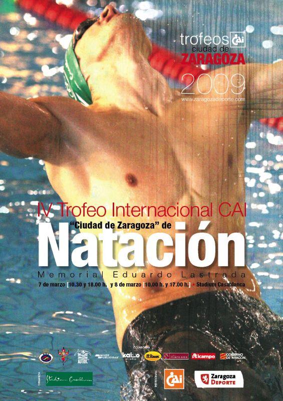 IV Trofeo Internacional CAI «Ciudad de Zaragoza» de Natación