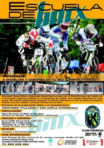 Escuela de BMX 2012-13
