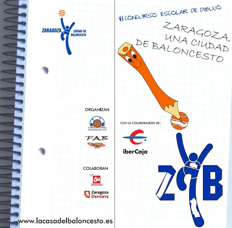 VI Concurso Escolar de Dibujo «Zaragoza, una ciudad de Baloncesto»