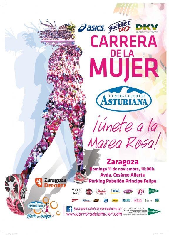 Agotados los dorsales para participar en la XV «Carrera de la Mujer» de Zaragoza