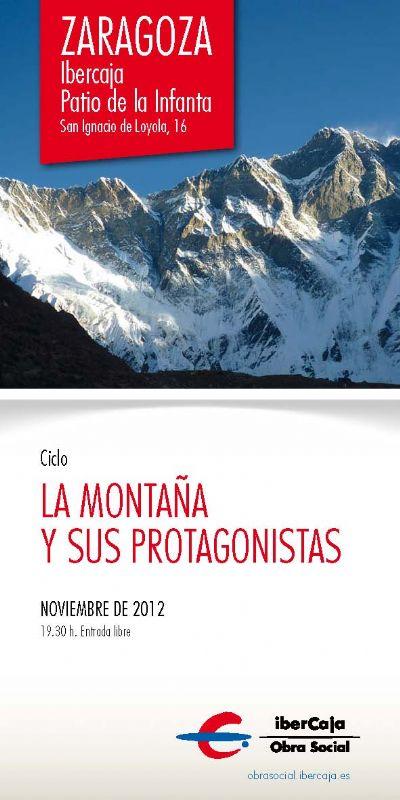 Ciclo de proyecciones «La Montaña y sus protagonistas» 2012