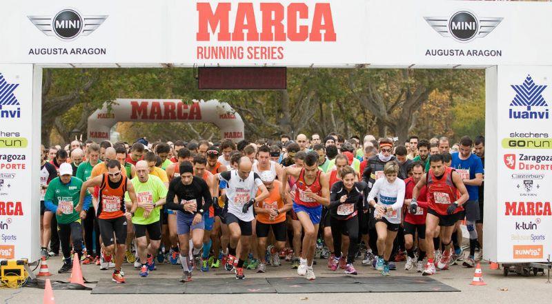 Disponibles las clasificaciones y vídeos de la carrera «Marca Running Series»