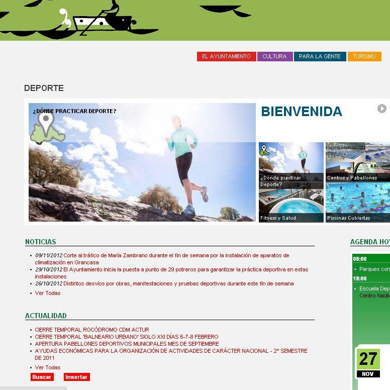 ¿Dónde practicar deporte en Zaragoza?