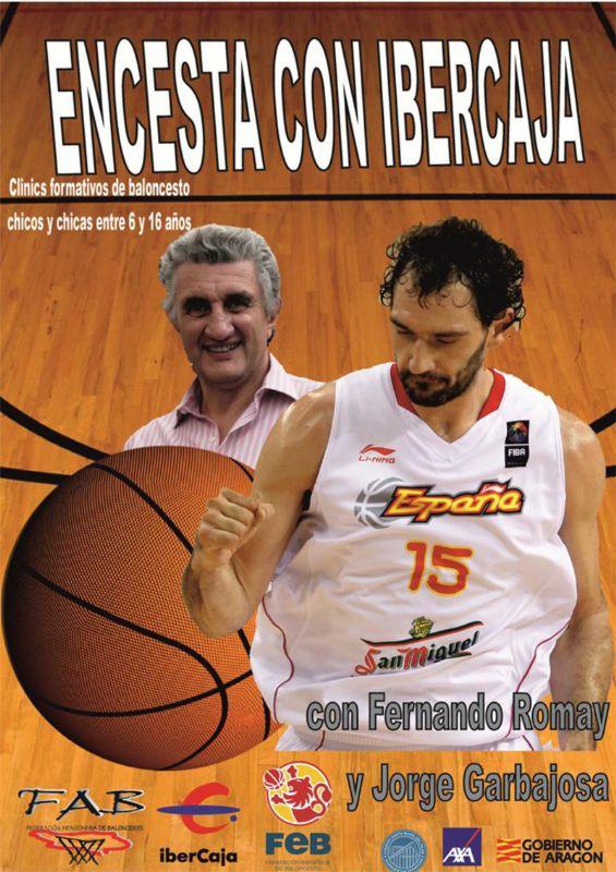 Clinics formativos de baloncesto «Encesta con Ibercaja»