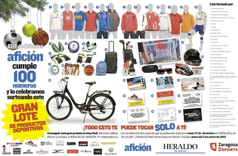 Heraldo sortea un espectacular lote de productos deportivos