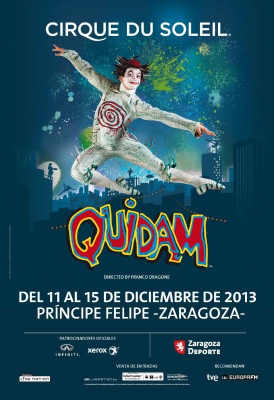 El Circo del Sol llegará de nuevo a Zaragoza en Diciembre de 2013