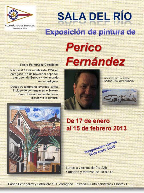 Exposición de pintura de Perico Fernández