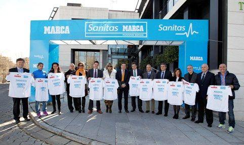 Sanitas se convierte en patrocinador de la «Sanitas Marca Running Series»