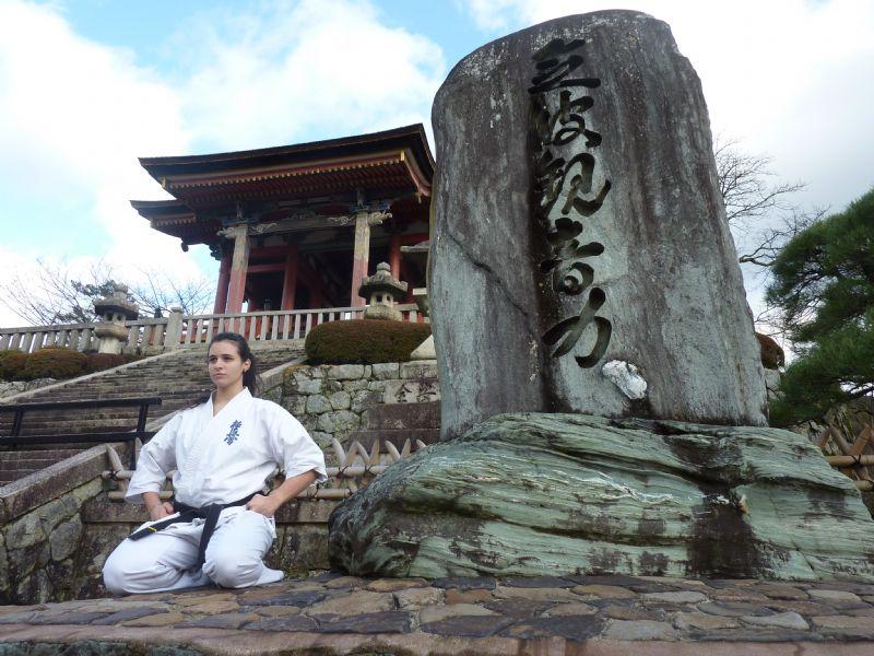 La zaragozana Beatriz Prades, medalla de Bronce en la Copa del Mundo de Kyokushin Karate