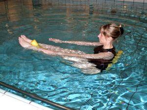 CAI Deporte Adaptado presenta una nueva actividad: Aqua Pilates