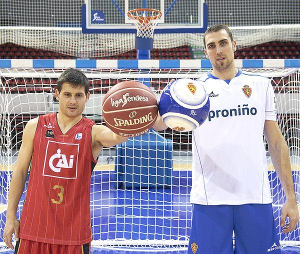 El CAI Zaragoza y el Real Zaragoza unen a sus abonados este fin de semana y ofrecen una promoción conjunta