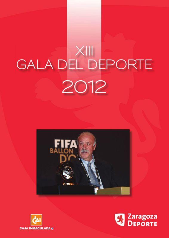 Revista de la Gala del Deporte 2012