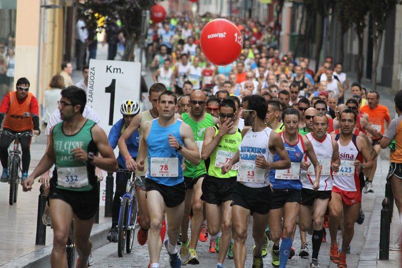 Entrenamientos para preparar la Media Maratón de Zaragoza
