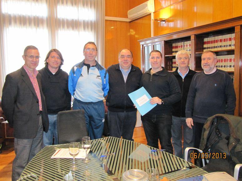 El Ayuntamiento firma sendos convenios de colaboración con las federaciones de Patinaje y de Rugby