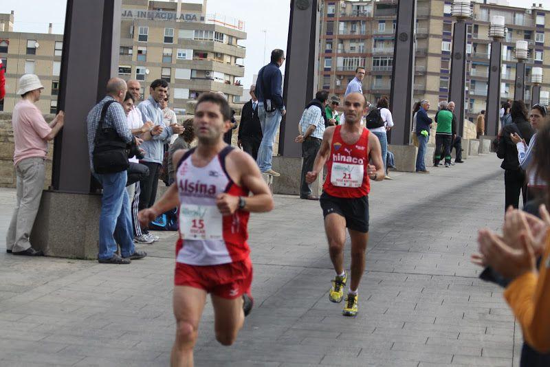 I Concurso para centros escolares y clubes «Anima la Media Maratón de Zaragoza»